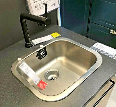 IKEA Fregadero Cocina Sin Válvula de Drenaje & Sifón Lavabo Suspendido