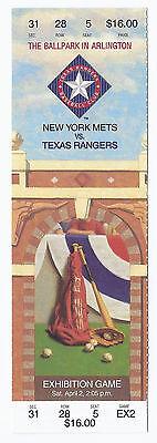 Rangers Ballpark In Arlington (1994 Texas Rangers Second Ever Game at THe Ball Park in Arlington Mets @ Rangers)