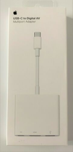 Apple MUF82AM/A USB-C Digital AV Multiport Adapter GENUINE
