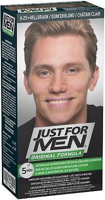 Just for Men Hair Dye, Original Formula Hair Colour H25 – Light Brown