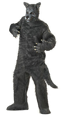 Adult Big Bad Wolf Full Suit - Adult Big Bad Wolf Kostüm