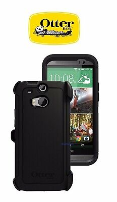 New OtterBox Defender Series Case & Holster for HTC One M8 - Black