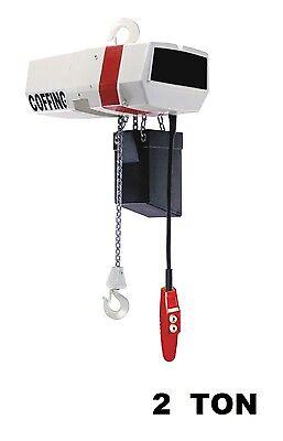 - CMCO - COFFING EC ELECTRIC CHAIN HOIST - 2 TON CAPACITY