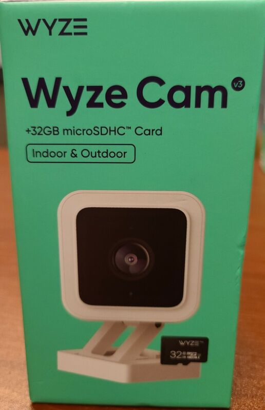 Wyze Cam V3 Wired 1080p HD Indoor Outdoor Smart Home Security Camera