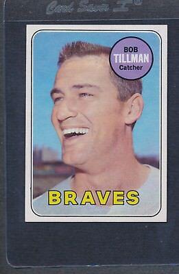 1969 Topps #374 Bob Tillman Braves NM *5759