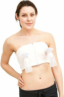 Hands Free Pumping Bustier, SIMPLE WISHES, L/XL/XXL Pink