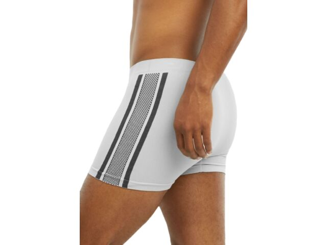 6 Pack Men/'s Seamless Compression Boxer Briefs Underwear Lion One Size MS035M