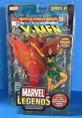"Marvel Legends Series VI Phoenix Jean Grey Toy Biz 6"" Action Figure"