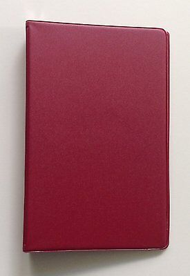 Mead 46001- Small 6-ring Redburgundy Binders With 6.75 X 3.75-inch 4 Pack