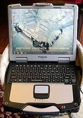 Panasonic Toughbook CF-30 TOUCHSCREEN WIND 7 CLEAN Loaded READY TO USE Laptop