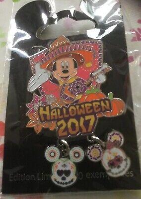 Disney Halloween  Pin 2017 Mickey Limite Edition 700 Stück.