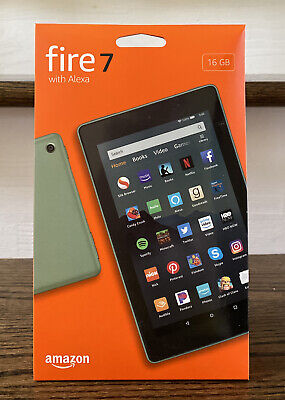 Amazon Fire 7 (9th Generation) 16GB, Wi-Fi, 7in - new Color: Sage green