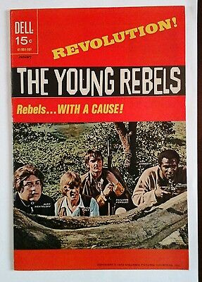 THE YOUNG REBELS   # 1 VERY FINE  1971 FILE COPY