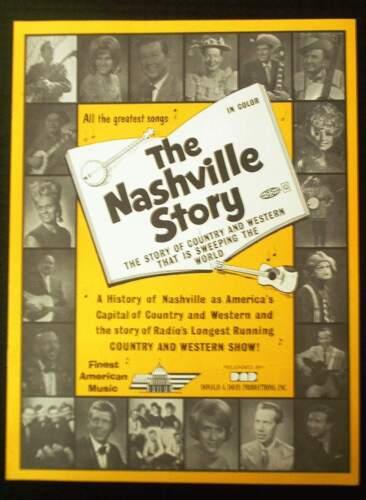 THE NASHVILLE STORY - 8 pages & 8 bonus photos /1986 Fender, Coe, Axton, Robbins