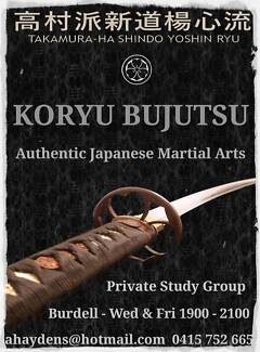 Classical Japanese Martial Arts - Townsville