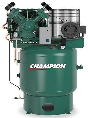 Champion Vrv7-8-1p-230 Air Compressor 7.5 Hp Watd Acac And Air Dryer Crn25-f