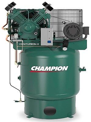 CHAMPION VRV7-8-1P-230 AIR COMPRESSOR 7.5 HP W/ATD ACAC AND AIR DRYER CRN25-F for sale  Princeton