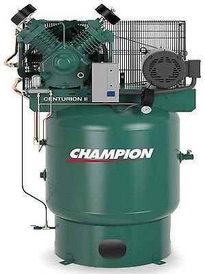 Champion Vrv7-8-1p-230 Air Compressor 7.5 Hp Watd Acac And Air Dryer Crn25-f