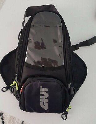 Givi Black Fuel Tank Bag Bike Motorcycle Magnetic Outdoor Wallet Gear Motorcycle Magnetic Tank Bag Luggage