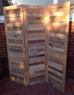 Recycled Timber Room Divider Screen Mount Hawthorn Vincent Area Preview