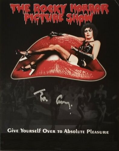 Tim Curry Autographed Signed 8x10 Photo ( Rocky Horror Picture Show ) Reprint