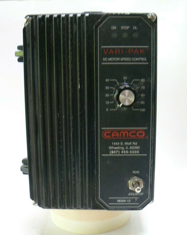 CAMCO 92A61633010000, Vari-Pak, Cycling DC Motor control, 115v, 1HP.