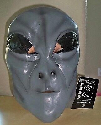 UFO SPACE GREY GRAY ALIEN MONSTER MASK COSTUME NEW MI9812 - Grey Alien Mask