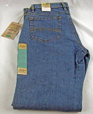 Womens NWT Wrangler Aura Jeans low / short rise stretch size 6 x 30 short 6P (Short Rise)