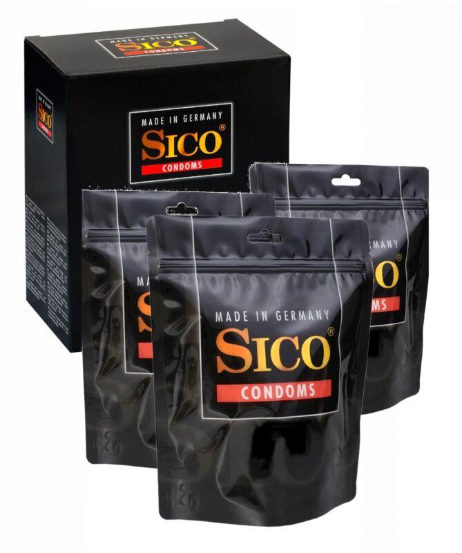 100 SICO Kondome verschiedene Sorten, Größen sowie Farbe & Aroma Markenkondome
