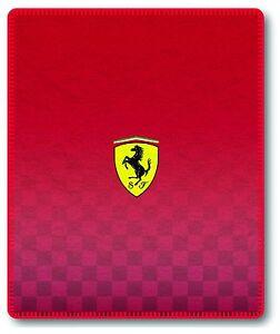 Formula-Formel-1-Scuderia-Ferrari-LOGO-Manta-Polar-Fleece-Chaleco-lana-manta