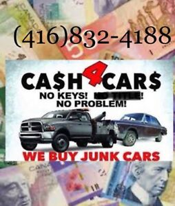 We pay top $$$ for your scrap car ($200/$5000)call today