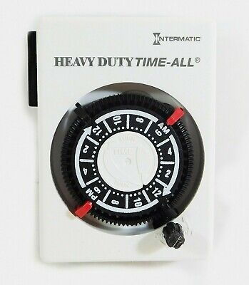 Intermatic Mechanical 30 Minute To 23 Hour Plug In Timer Hb112