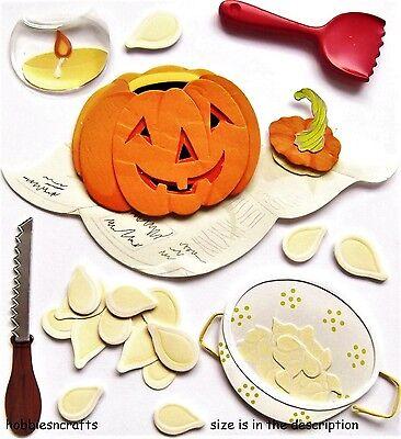 Ek-Erfolg JOLEE'S Boutique 3-D Sticker - Halloween Kürbisse - Kürbis Schnitzen