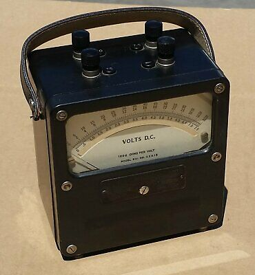 Vintage Weston Volts D.c. Meter Model 931 1000 Ohms