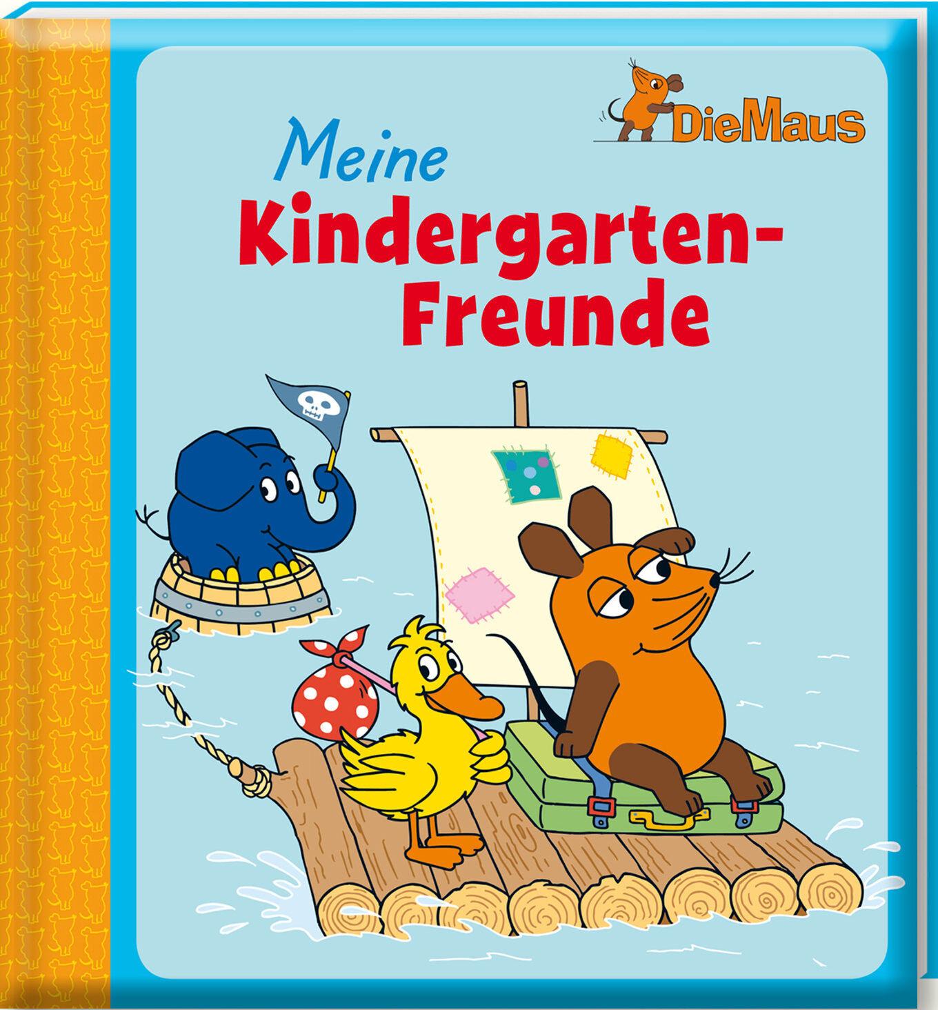 Freundebuch Die Maus Meine Kindergarten Freunde Gebunden + BONUS