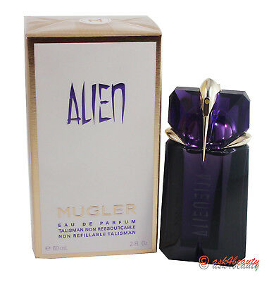 Alien by Thierry Mugler Non Refillable 2.0oz/60ml Edp Spray For Women New In Box