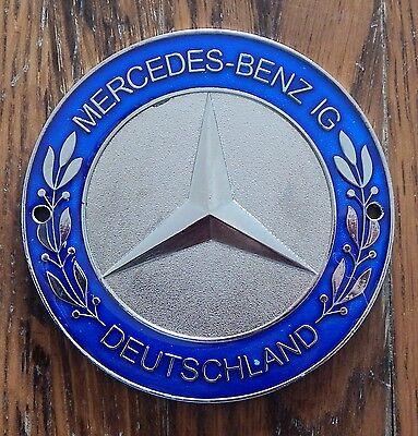 MBIG Mercedes Benz Kühler Plakette Oldtimer