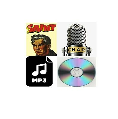 The Saint Old Time Radio MP3 Collection on CD ROM