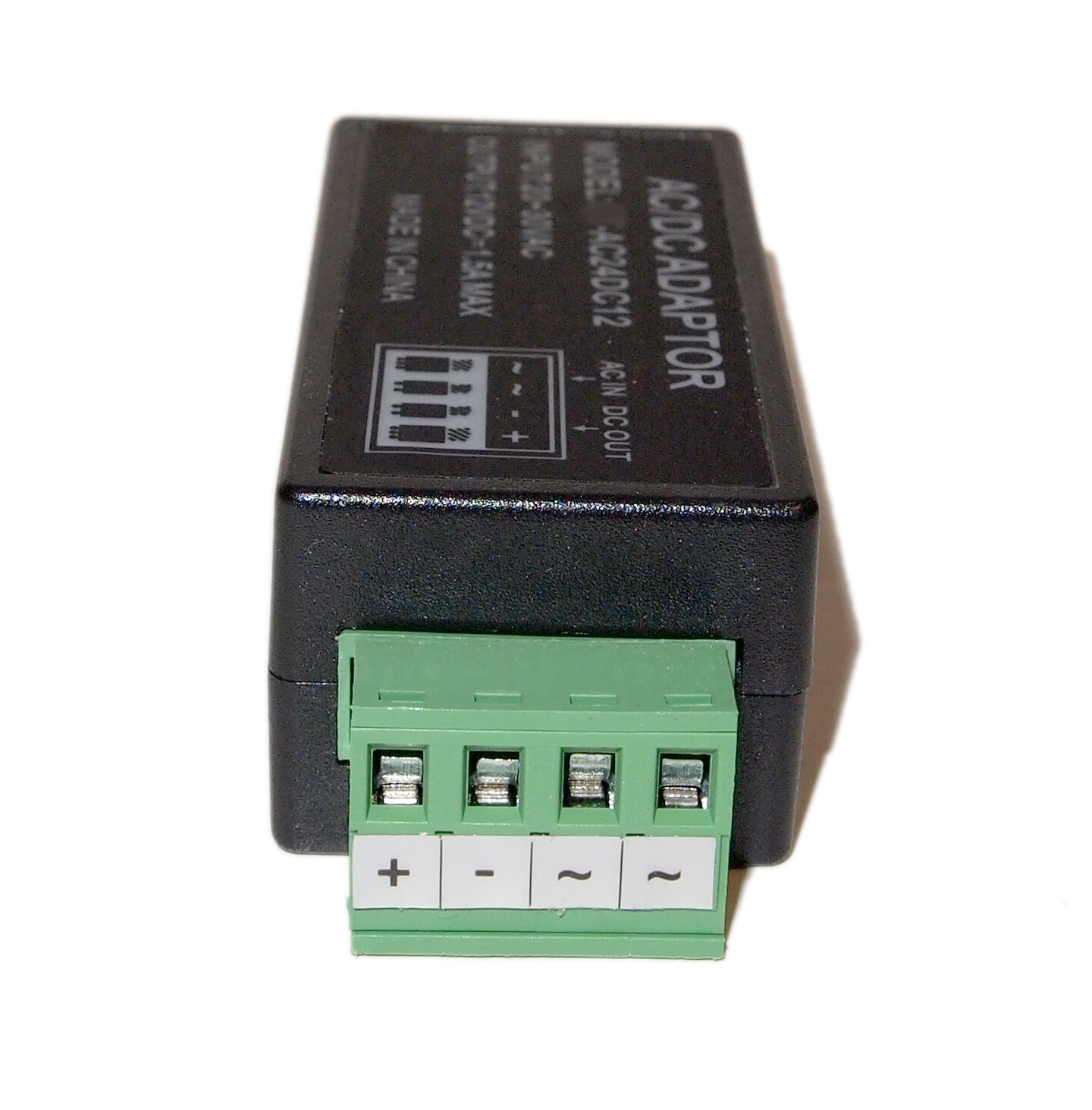 Volt ac to v dc power converter reducer adapter ebay