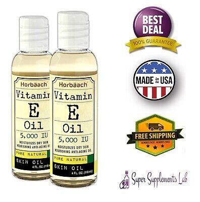 5000 Iu Vitamin E Oil - NATURAL VITAMIN E OIL NATURAL 5000 IU 8 oz Moisturize Face Skin Scars Hair Care