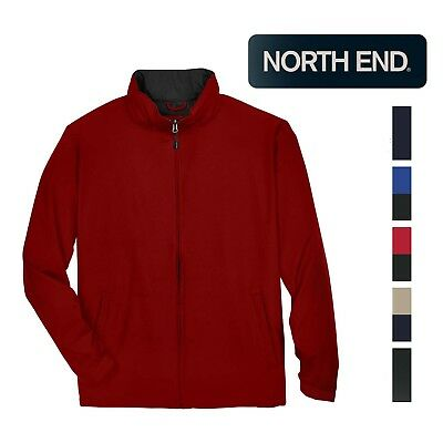 North End Men's Techno Lite Water Resistant Jacket XS-5XL Mens Techno Lite Jacket