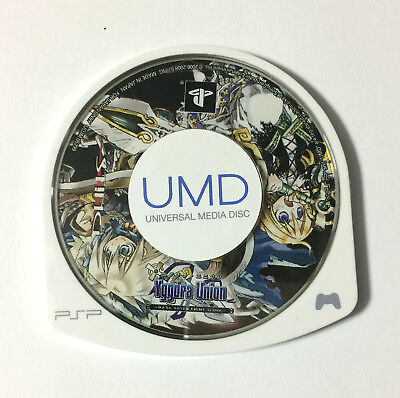 USED PSP Disc Only Yggdra Union JAPAN Sony PlayStation Portable import Japanese