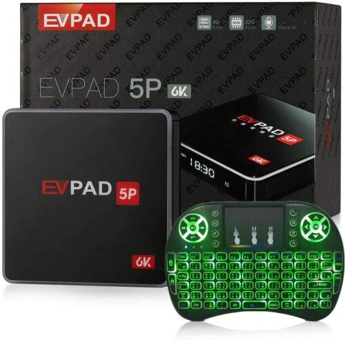 2021 Newest EVPAD 5P Smart 6K TV Box 全球首發 易播5代智能語音電視盒 Free Gift w/Purchase