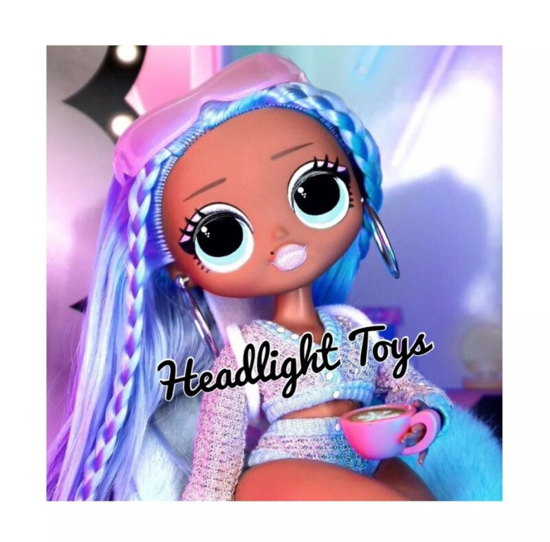 1 Lol Surprise Snowlicious Omg Fashion Doll Snow Angel Series 1 Wave 2 In Hand