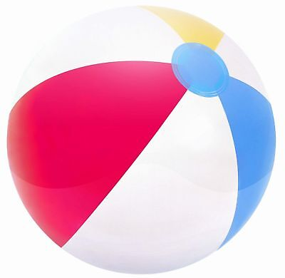 4pk x 20in Beach Ball Inflatable Blow Up Fun Holiday, Summer Party Swimming