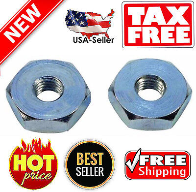 2 Stens 635-293 Bar Nut Stihl 028AV 021 025 036 MS271 MS391 Farm Boss Chainsaw + for sale  USA