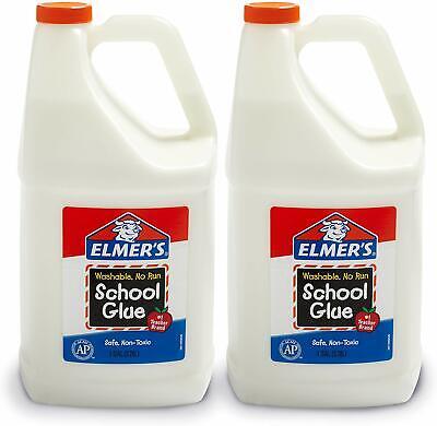 1 gallon 2 count liquid white school