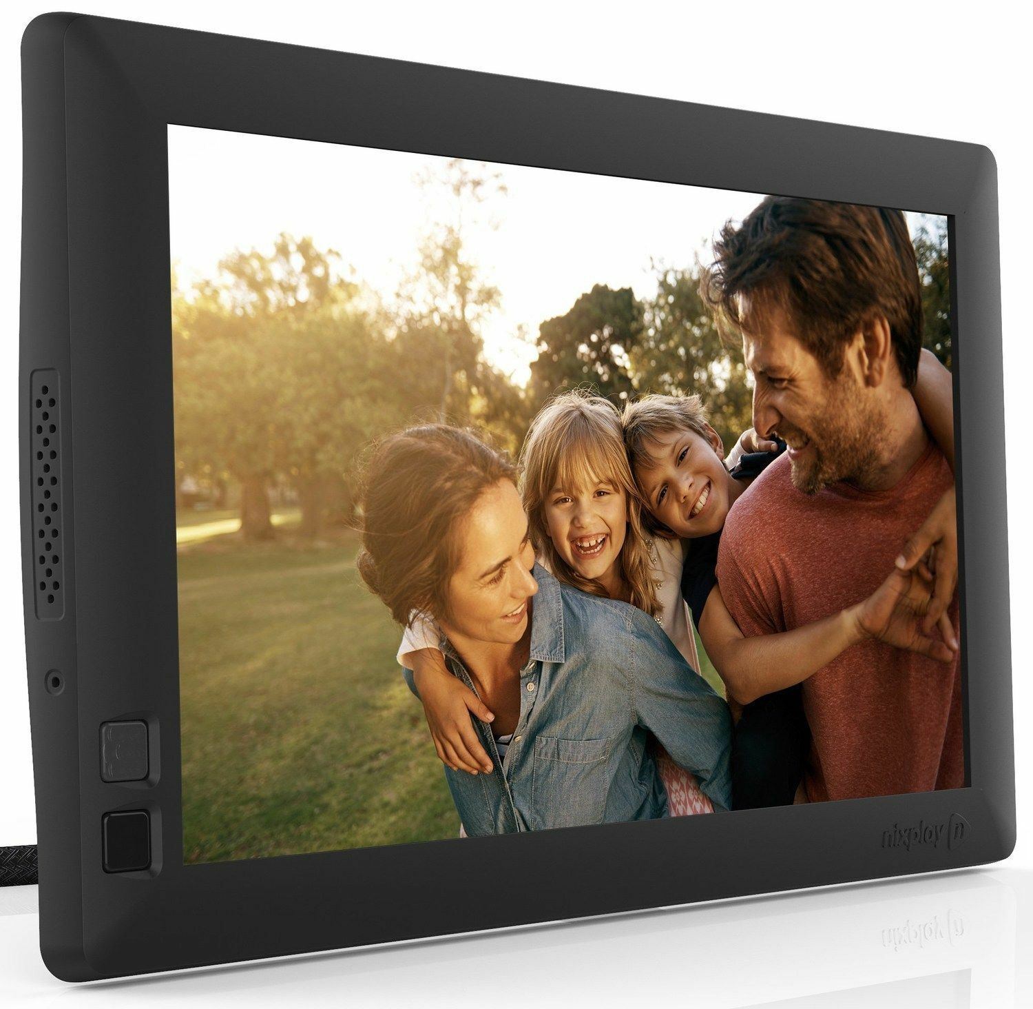 the seed is another family of cloud enabled wireless photo frames from nixplay it comes in three sizes 7 inches 8 inches and 10 inches - Wireless Picture Frame