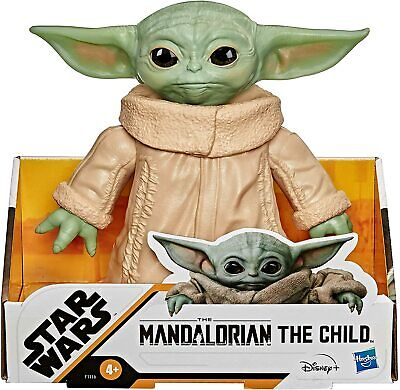 Star Wars The Mandalorian The Child Posable Action Figure Toy