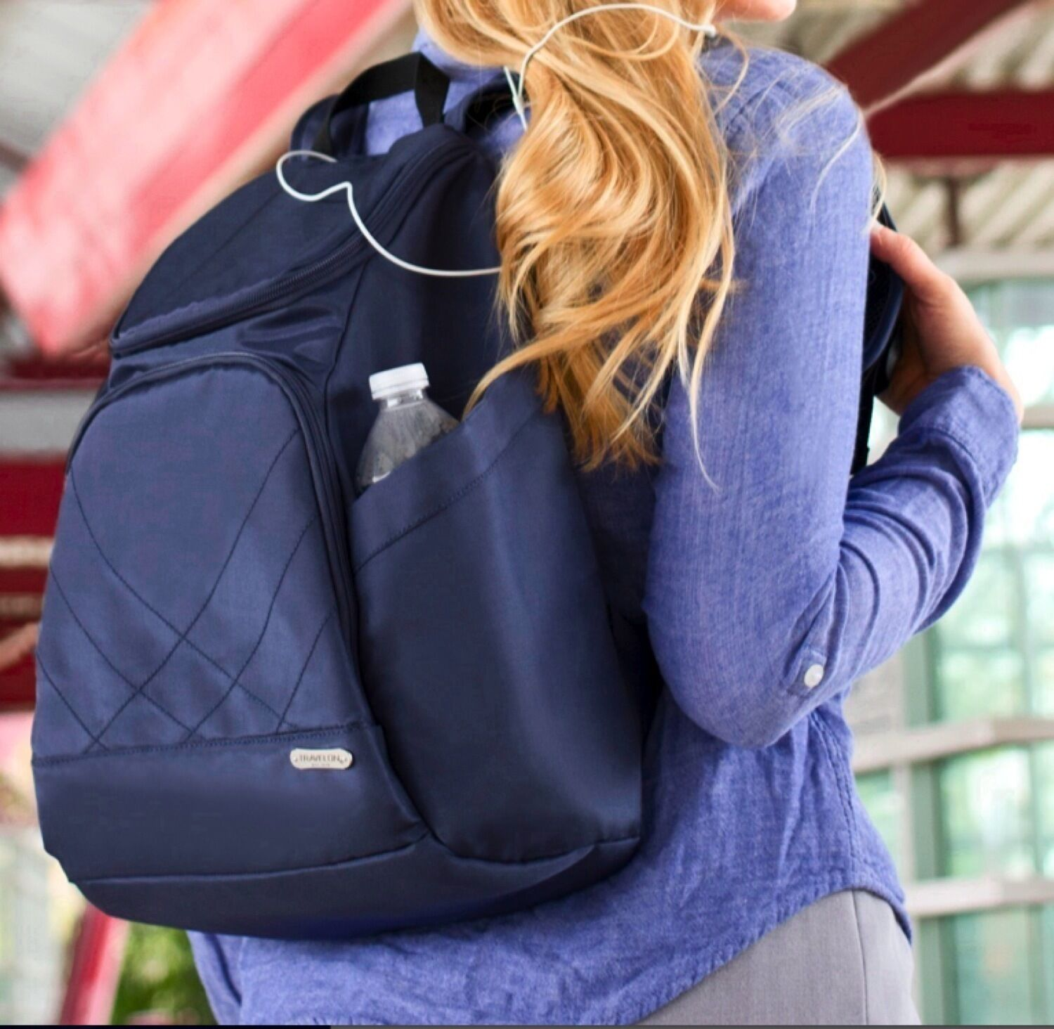 TRAVELON ANTI Swiping RFID SAFE CLASSIC TRAVEL BACKPACK